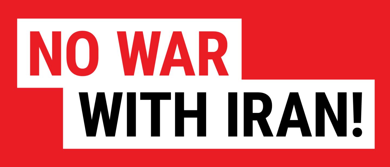 Presidio oggi a Roma contro la guerra all'Iran #NoWarOnIran