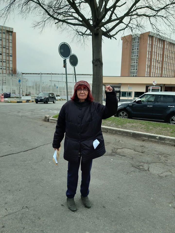 Nicoletta Dosio finalmente fuori dal carcere!