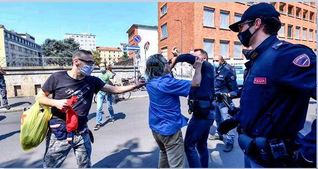 Le contraddizioni del 25 aprile ai tempi del Coronavirus: continua la repressione, continuiamo la lotta!