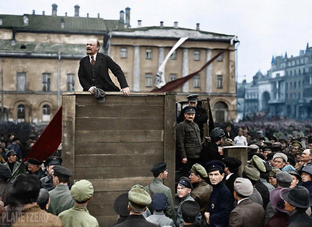 """Il terrore del """"trotskismo"""" delle Tesi d'aprile di Lenin, nel 1917 e oggi"""