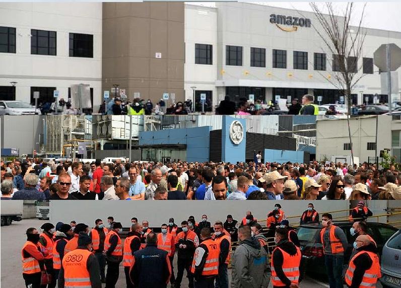 Gli scioperi contro la crisi sanitaria stanno attivando una nuova leva di lottatori della classe operaia