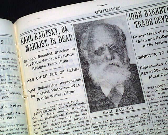 Il dibattito su Kautsky, ovvero riforma o rivoluzione