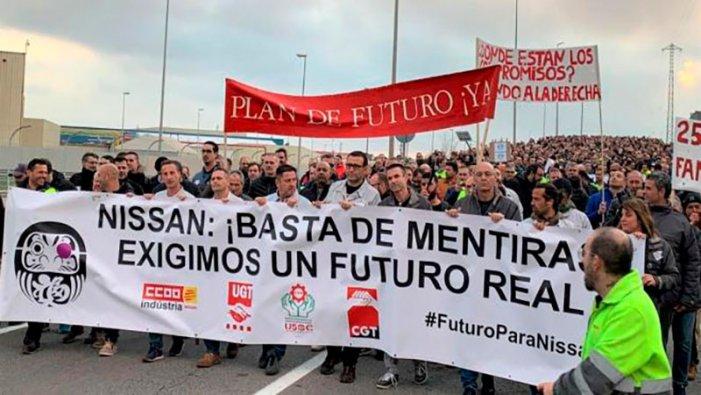 [Video]Sciopero alla Nissan di Barcellona: solidarietà dagli operai di FCA Cassino!