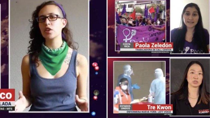 Primo Maggio: migliaia di persone hanno assistito all'Atto internazionalista della Frazione Trotskista