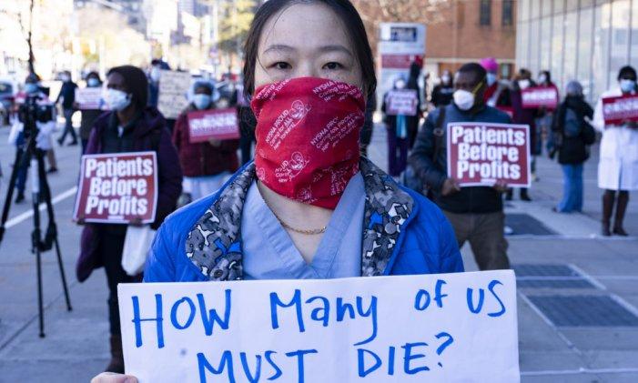 Le donne in prima linea nella crisi sanitaria e nella lotta contro il capitalismo patriarcale e razzista!