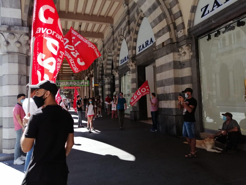 Zara scarica oltre 400 lavoratori in tutta Italia, sciopero nazionale!