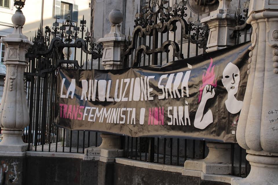 """Il movimento transfemminista non si ferma : """"i panni sporchi si lavano in piazza"""""""