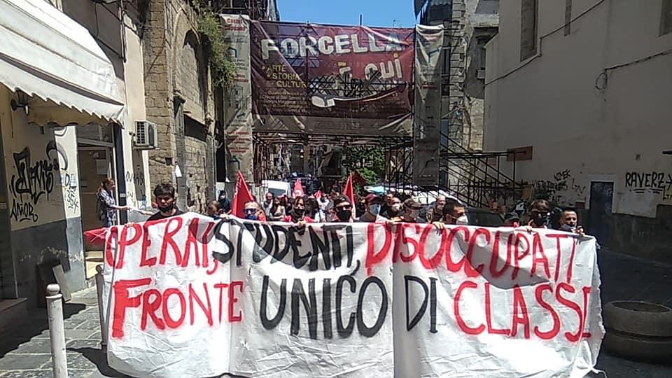 """""""La crisi la paghino i padroni, fronte unico di classe!"""": migliaia di lavoratori, studenti, disoccupati in piazza in tutta Italia"""