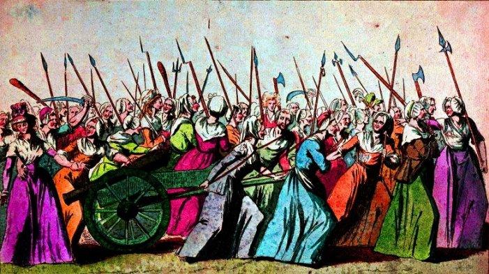 5 ottobre 1789: le donne che camminarono 26 chilometri sotto la pioggia