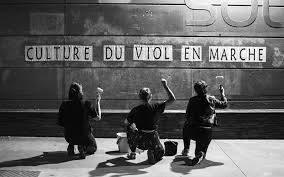 I collage contro il patriarcato in Francia - una poesia