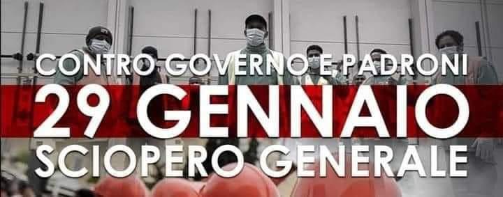 Terza assemblea nazionale delle lavoratrici e dei lavoratori combattivi: verso lo sciopero del 29 gennaio!