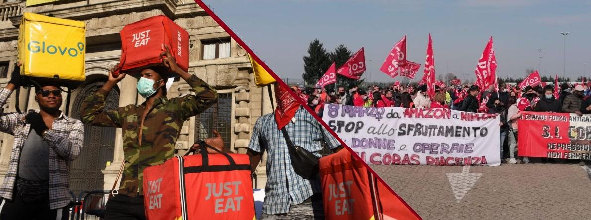 Rider, driver e magazzinieri: oggi è sciopero della logistica!