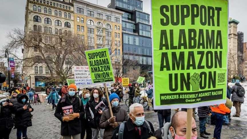 Primo sciopero nazionale in Amazon: i lavoratori e le lavoratrici si ribellano al colosso statunitense dell'e Commerce