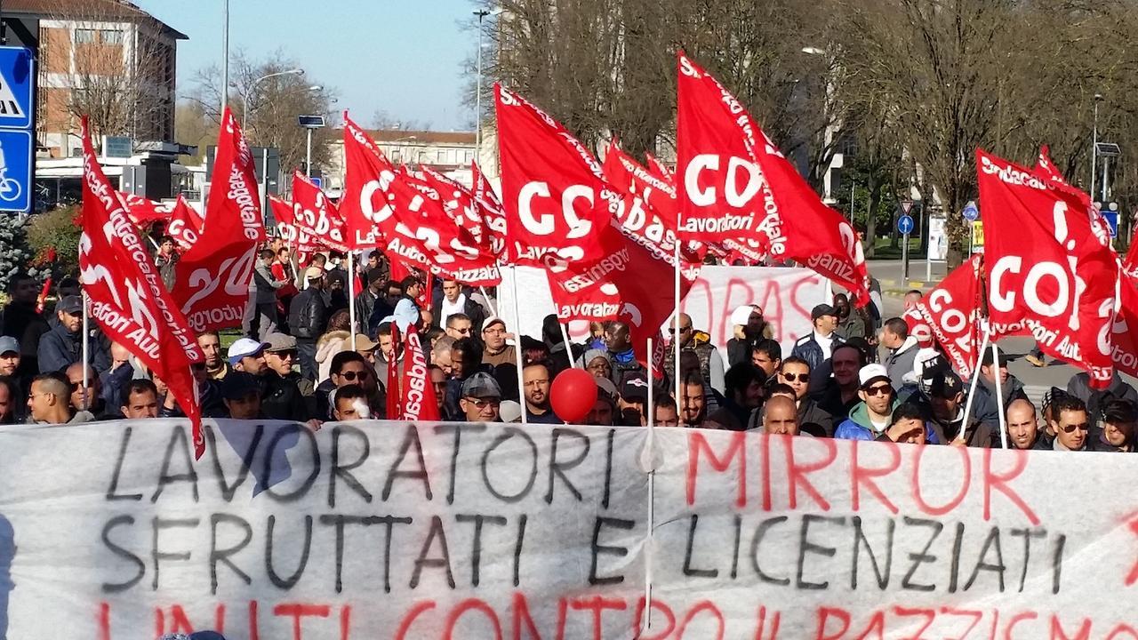 Condanna di 9 mesi a Carpeggiani del SI Cobas: continua la scia di attacchi giudiziari alle lotte operaie