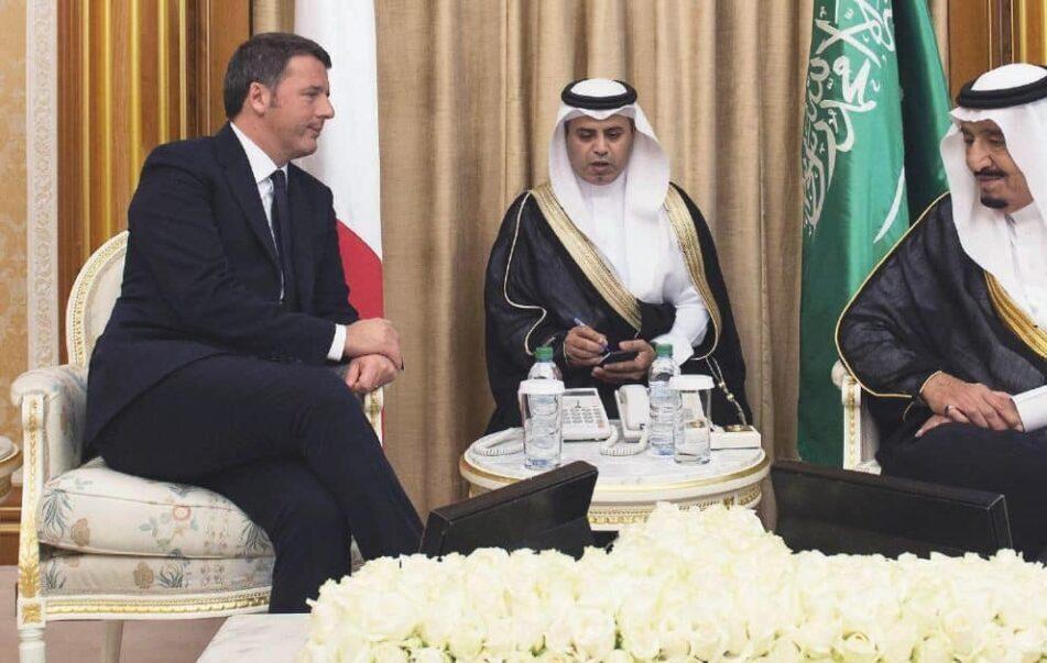 """Renzi in Arabia: sono più di """"ottantamila"""" le ragioni della visita"""
