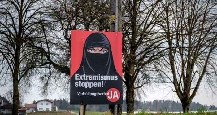 Referendum in Svizzera: vince la campagna islamofoba per il volto scoperto
