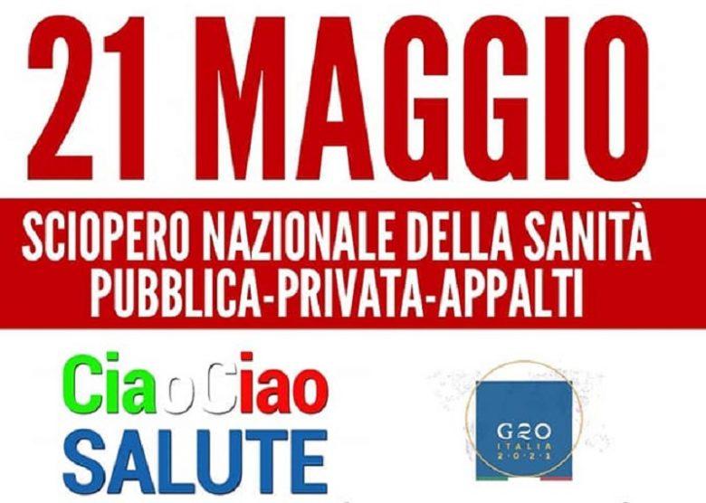 G20 sulla salute a Roma: oggi sciopero in sanità, domani corteo nazionale a Roma!