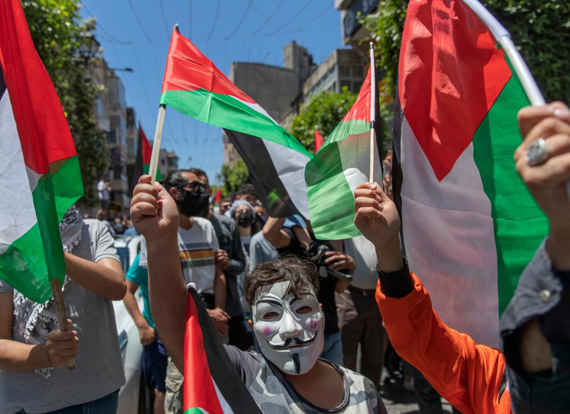 Pieno successo dello sciopero generale in Palestina, il più grande dal 1939!