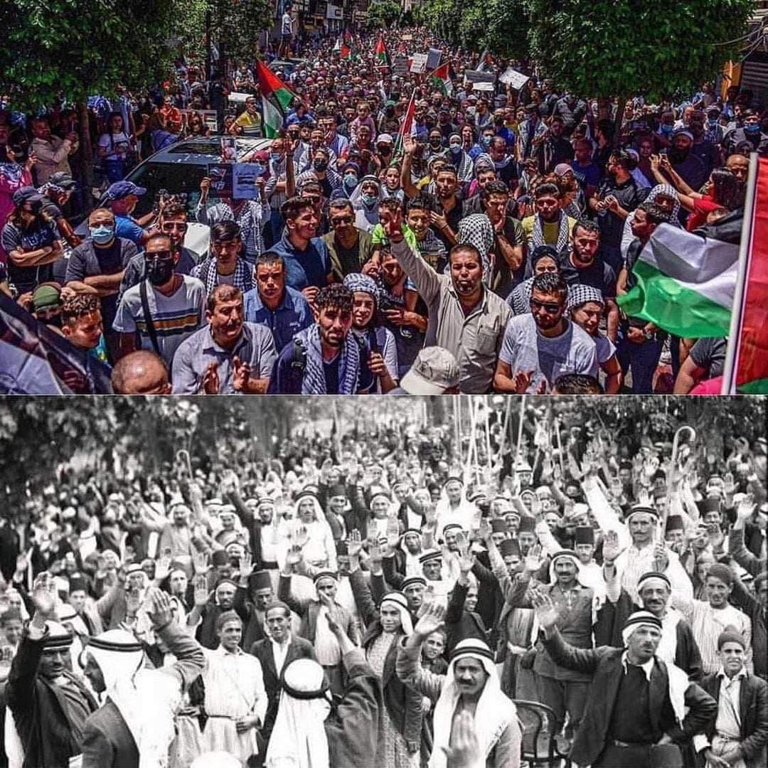 """Per una """"Intifada dell'Unità"""": in italiano il manifesto distribuito nello sciopero generale palestinese"""