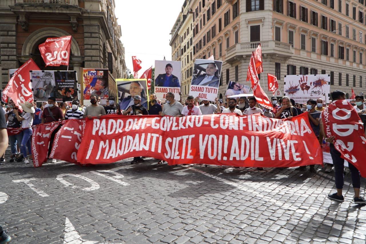 10mila al corteo a Roma contro licenziamenti e repressione!