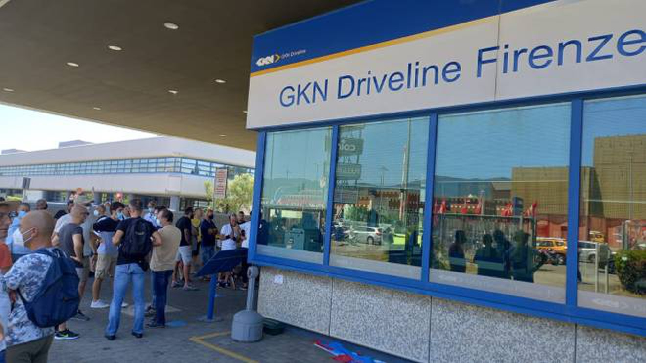 Annunciata la chiusura della GKN di Firenze con 422 licenziamenti